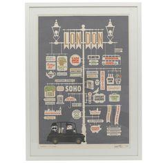 Print - Jim Datz - London - Sitting Room
