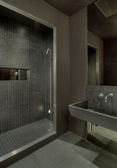 Not sure about the urinal sink...but the shower is really cool!