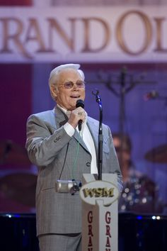George Jones. The music he leaves us with is timeless and classic. He was the master of the true country and western hero's of my youth. I'll miss you Geoge...thanks for the music. Rest in Paradise.....