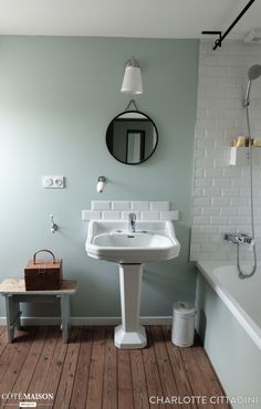Target Home Decor .Target Home Decor Retro Bathrooms, Amazing Bathrooms, Modern Bathroom, Small Bathroom, Green Interior Design, Bathroom Interior Design, Bad Inspiration, Bathroom Inspiration, Lavabo Vintage