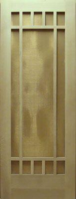 Craftsman Screen & Storm Doors - YesterYear's Vintage Doors