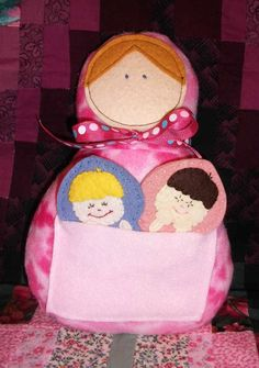 Sewing Miles of Smiles...: MATRYOSHKA DOLL & FINGER PUPPETS