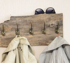 Rustic coat rack, reclaimed wood garment rack, entryway organizer, wardrobe rack, gift for him - New Ideas Boho Bedroom Decor, Boho Room, Nursery Wall Decor, Baby Room Decor, Boho Decor, Rustic Decor, Bedroom Ideas, Hanging Centerpiece, Rustic Coat Rack