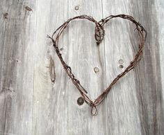 barbed wire crafts | have lots of old barb wire...wire