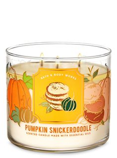 The warm, sweet fall treat you'll come back for again & again (& again). Candle comes topped with a decorative lid.