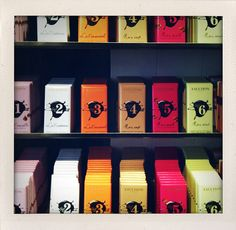 Fauchon chocolate bars by Kitchen Culinaire, via Flickr