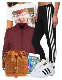 """""""10 11 15"""" by miizz-starburst ❤ liked on Polyvore featuring Untitled & Co, WearAll, adidas Originals, MCM, adidas, women's clothing, women, female, woman and misses"""