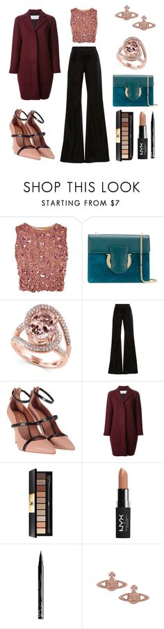 """I say a little prayer"" by massielcristina on Polyvore featuring moda, Lace & Beads, Salvatore Ferragamo, Effy Jewelry, Cynthia Rowley, Malone Souliers, Gianluca Capannolo, Yves Saint Laurent, NYX y Vivienne Westwood"