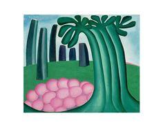 FLORESTA (1929) -Tarsila do Amaral