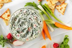 PHILADELPHIA Spinach Dip - a party classic as dependable as your little black dress. So easy to put together, it'll never make you late. Kraft Recipes, Dip Recipes, Dairy Free Recipes, Cooking Recipes, What's Cooking, Recipies, Appetizer Dips, Appetizer Recipes, Easter Recipes