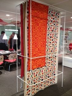 "BRIGHT LYONS: BRIGHT LYONS & HERMAN MILLER Present Alexander Girard ""An Uncommon Vision"" opening today at NeoCon Chicago 2012. I think these are gorgeous rugs."
