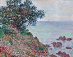 Mediteranian Coast, Grey Day, 1888 - Claude Monet