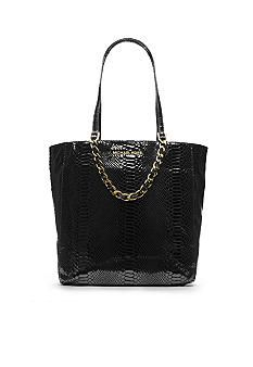 MICHAEL Michael Kors Harper Large North South Tote Butterfly Top, North  South, Snake Print 8b54468fc1