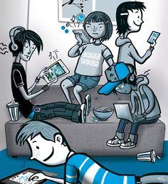 Problematisch gebruik van sociale media en games - Artikelen - 4W Weten Wat Werkt Waarom - Kennisnet