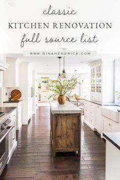 Here's a full breakdown of all of the items I sourced for our kitchen renovation and why I chose them. You can use this Classic Kitchen Renovation source list to lay the groundwork for your own renovation! Kitchen Interior, Kitchen Decor, Kitchen Design, Kitchen Ideas, Kitchen Inspiration, Cheap Home Decor, Diy Home Decor, Room Decor, Outdoor Light Fixtures