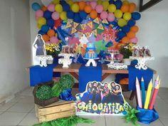 Decoração de Festa  tema Chiquititas