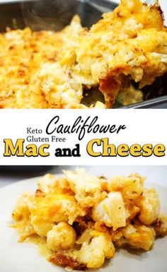 cauliflower mac and cheese pinterest