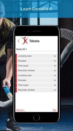 Tabata method with Kalos HIIT to start CrossFit