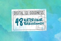 Graphic Design - Graphic Design Ideas  - FREE DOWNLOAD! 48 Watercolor Backgrounds by Digital Goodness on Creative Market   Graphic Design Ideas :     – Picture :     – Description  FREE DOWNLOAD! 48 Watercolor Backgrounds by Digital Goodness on Creative Market  -Read More –