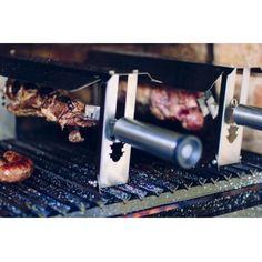 Minispiedo P/parrilla Acero Inox Promo Lanzamiento Spiedo - $ 1.539,00 en Mercado Libre