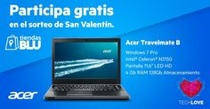 ¡Sorteo especial de San Valentín de un Acer Travel Mate!