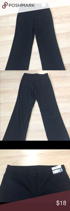 "NWT NY&Co Park Avenue Pant Size 4 Brand New With Tags!  New York & Company Park Avenue City Stretch Pants, Size 4, these pants retailed for $45.  Perfect for work, and could transition to evening as well with a fun tank and heels!  Straight leg, Uptown Rise.  Stretches for a comfortable fit. Inseam measures 30"" Rise measures 10"" Leg opening measures 10"" across, 20"" around New York & Company Pants Straight Leg"