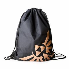 ce28ff2e78 Buy The Legend of Zelda - Gym Bag (Black Gold) from the official Nintendo  site. Free Delivery on all orders.