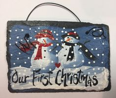 1 Lawyer Hand Painted Slate I Sue for You No 1 Christmas Ornament
