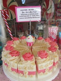 Norfolk Bath and Body: Norfolk Island Handmade Soap Cake Shared by Where YoUth Rise Soap Cake, Cupcake Soap, Handmade Soap Recipes, Handmade Soaps, Savon Soap, Decorative Soaps, Soap Packaging, Milk Soap, Cold Process Soap
