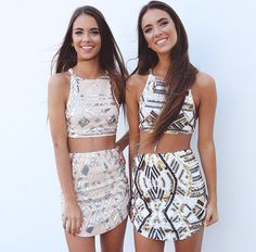 Renee Herbert + Elisha Herbert for peppermayo.com Lololol if I was skinny & pretty I'd wear these all the time