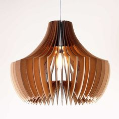 19 Amazing Corrugated Cardboard Ceiling Lamps