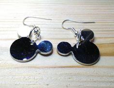 earrings Mickey de tecnoart21 en Etsy