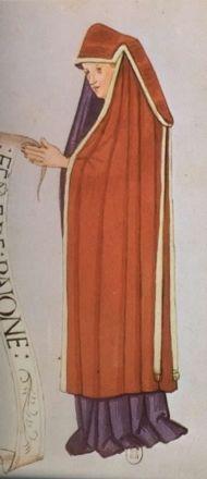 "Bayona. ""Habits de femmes de diverses countres"" Bibliotheque Nationale de Paris. early 16th c."