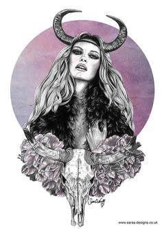 The Zodiac Series: Taurus on Behance