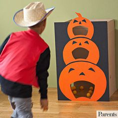 From activities little ones will love to do at your Halloween bash to spooky crafts you and your kids can make together, we have great projects that require few materials but guarantee lots of fun!