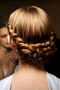 Hair inspiration #beautiful #braids #updo