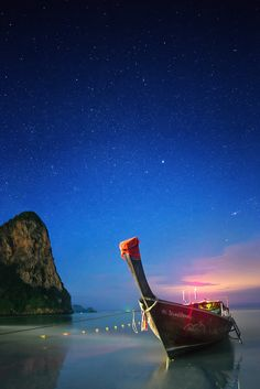 Starry Night in Thailand