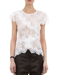 ISABEL MARANT Milo Lacy Top