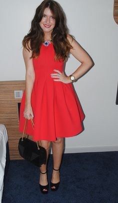 Outfit: MSGM Neoprene Lampshade Dress and Wedding Photos!