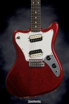 Fender Pawn Shop Super-Sonic Rosewood (Apple Red Flake)