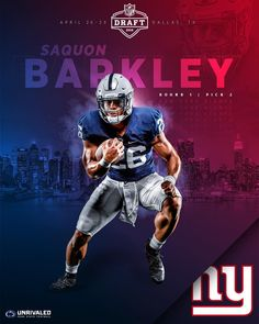 6ff5a0c32 New York State of Mind.  saquon  NFLDraft  WeAre New York Giants Football