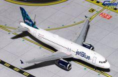 1/400 GeminiJets JetBlue Airbus A320-200 Diecast Model