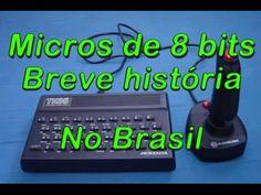 Micros de 8 bits - Breve história nos anos 80! - YouTube
