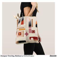 Designer Tote Bag, Medium #bags #bag #fashion #women #style #shoulderbag #handbags #shopping