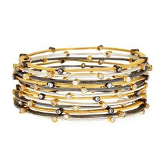 Bodai Jewels Stacking Bangles | 2013 Gift Guide: Winter Wonderland | Organic Spa Magazine