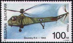 Sello: Helicopters (Bulgaria) (Transport) Mi:BG 4352,Yt:BG 3784