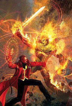 Who's costume you rather have Dr Fate or Dr Strange - Gen. Marvel Doctor Strange, Doc Strange, Dc Doctor, Strange Magic, Strange Things, Hq Marvel, Marvel Comics Art, Marvel Heroes, Anime Comics
