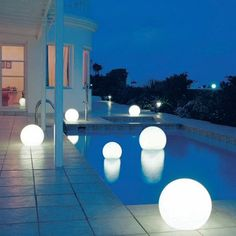 party lighting... if i had a pool