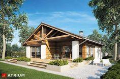 Projekty domów - Projekt domu parterowego PELIKAN III PLUS - wizualizacja 2