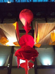 Richard Tuttle Artist Largest Art Work I Don't Know The Weave of Textile Language Monumental Sculptural Installation Turbine Hall Tate Modern London